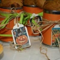 Pumpkin Bread in a Can