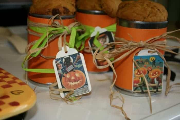 Pumpkin Bread in a Can