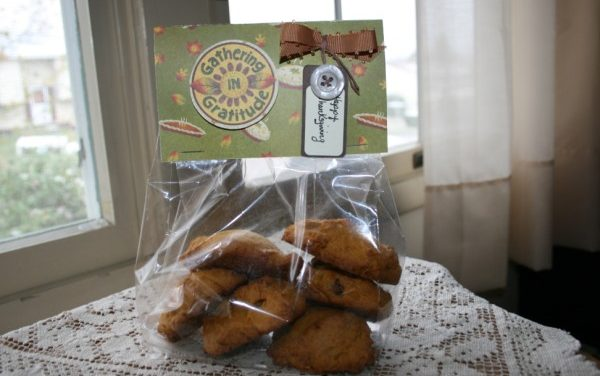 Old-Fashioned Soft Pumpkin Cookies/Thanksgiving Treat Bags