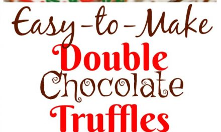 Easy-to-Make Double Chocolate Truffles