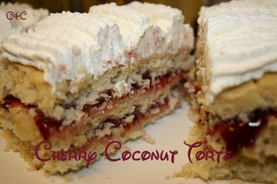 CherryCoconut-Torte