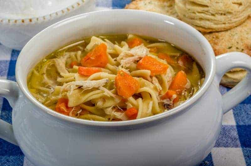 Homemade Chicken Noodle Soup ~ Comfort in a Bowl
