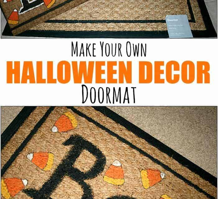 Glow in the Dark Halloween Doormat