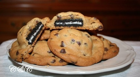 Chocolate Chip Cookies & Oreos ~ A Match Made in Heaven