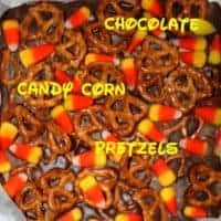 Milk Chocolate Candy Corn Bark