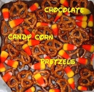 Milk Chocolate Candy Corn Bark