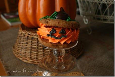 Jack O'Lantern Cookies001
