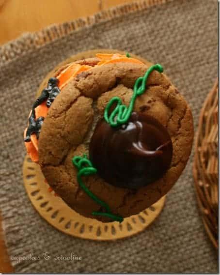 Jack O'Lantern Cookies002