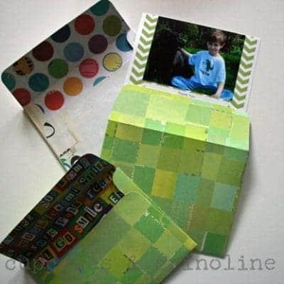DIY Envelopes Made with Cricut