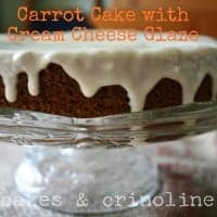 Carrot Cake with Cream Cheese Glaze