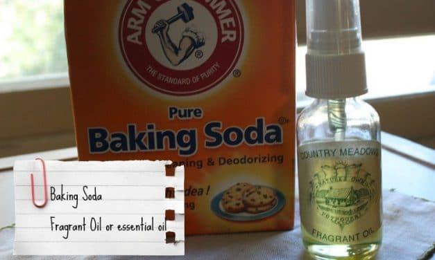 Make Your Own Carpet & Mattress Powder ~ Homemaking 101 Week #2