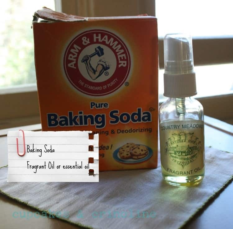Make Your Own Carpet & Mattress Powder ~ Homemaking 101 Week #2