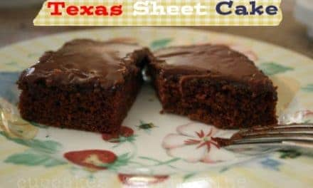 Texas Sheet Cake ~ oh my!