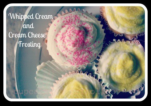 Whipped Cream and Cream Cheese Frosting