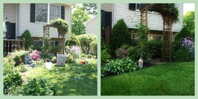 Front Yard Makeover- DIY Curb Appeal on a Budget Before and After
