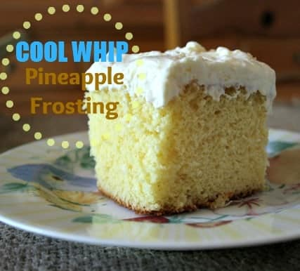 Cake Frosting With Cool Whip And Pudding