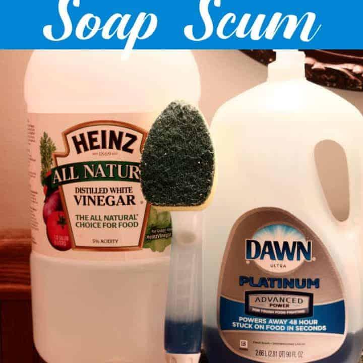 Best DIY Soap Scum Remover