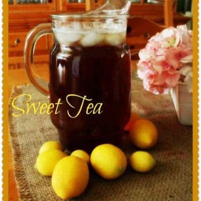 Southern Sweet Tea Archives ⋆ Home With Cupcakes And Crinoline