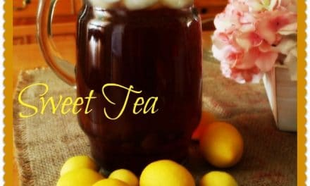 Southern Sweet Tea ~ So Easy