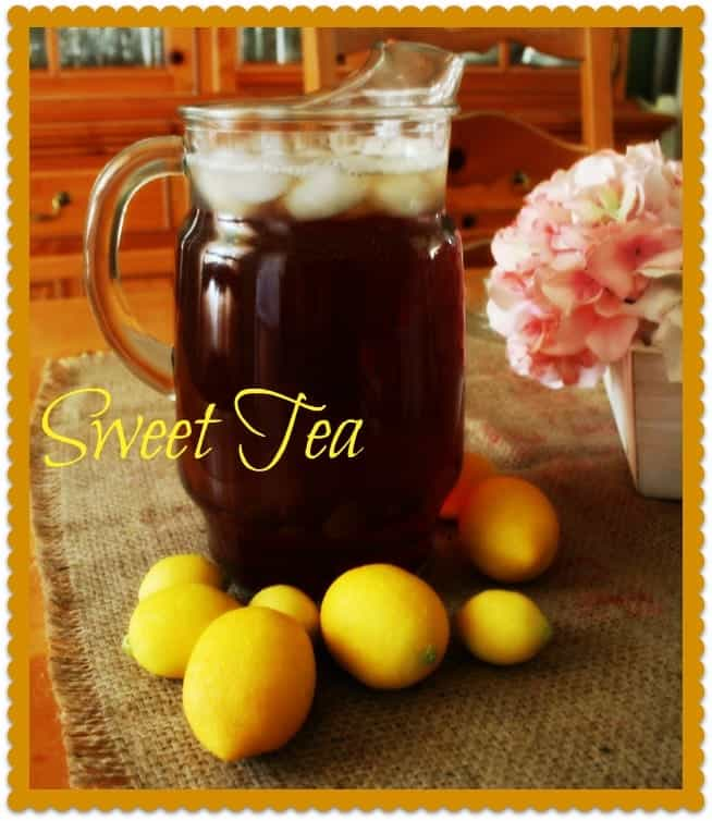 Southern Sweet Tea ~ So Easy