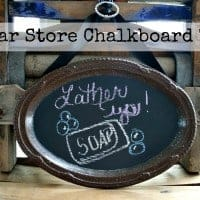 Dollar Store Chalkboard Tray~Cupcakes and Crinoline 5