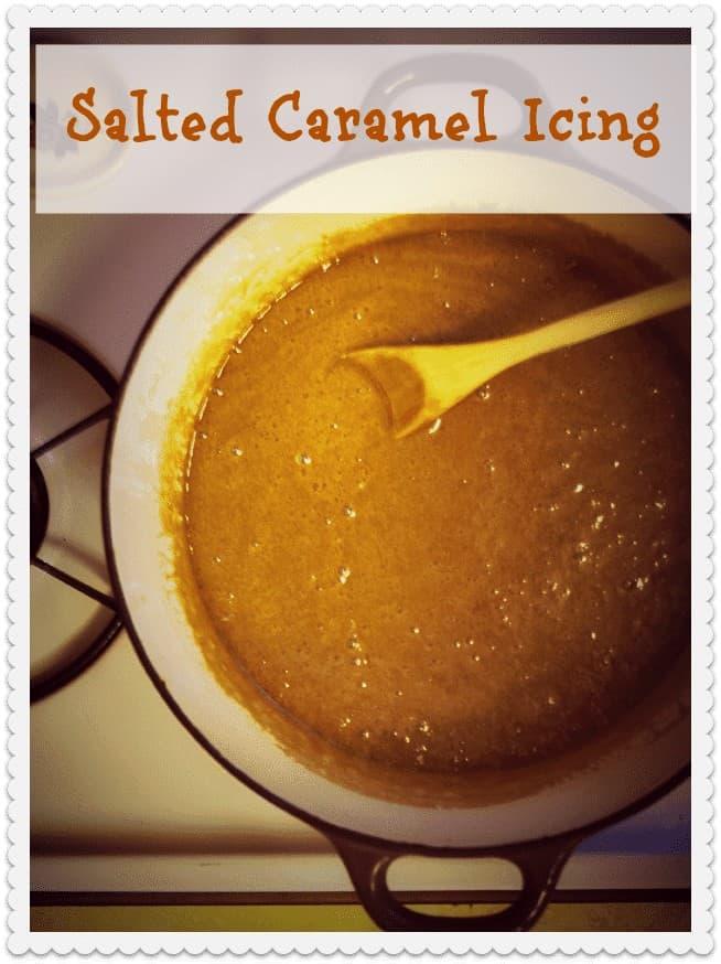 Salted Caramel Icing