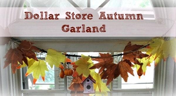 Easy Fall Garland