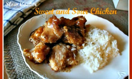 Sweet and Sour Slow Cooker Chicken