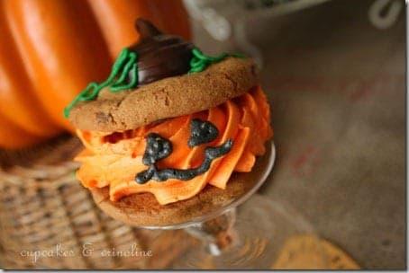 Jack O Lantern Cookies