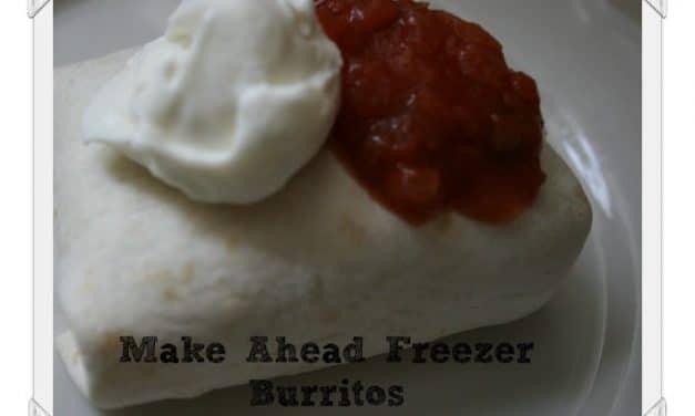 Make Ahead Burritos