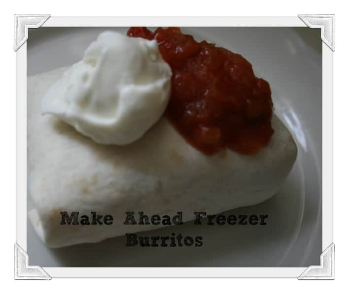 Make Ahead Burritos