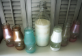 Martha Stewart Glass Paint Serving Glass and Drink Jars