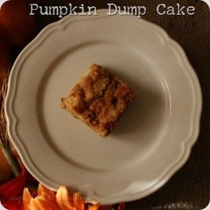 Pumpkin {dump} Cake