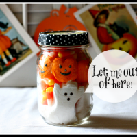 Halloween Peep Jar @ Cupcakes and Crinoline