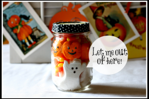 Halloween Peep Jar @ Cupcakes and Crinoline