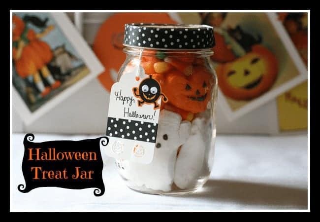 Halloween Treat Jar @ Cupcakes and Crinoline