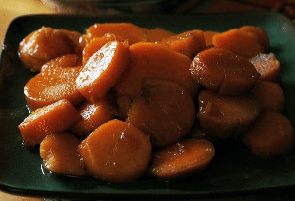 Candied Sweet Potatoes @ Cupcakes and Crinoline