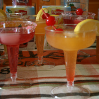#FamilyTeaTime Lipton Tear & Honey Mocktinis 2