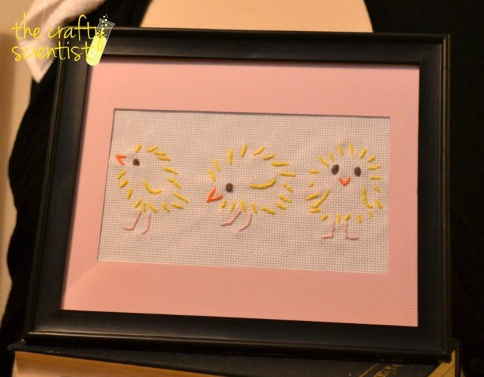 Baby Chick Embroidery