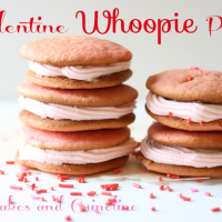 Valentine Whoopie Pies @Cupcakes and Crinoline