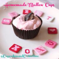 Homemade Mallow Cups @cupcakesandcrinoline.com