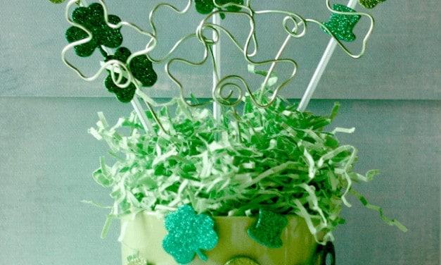 St. Patrick's Day Centerpiece ~ Dollar Tree DIY