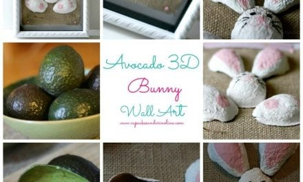 3D Wall Art Using Avocados