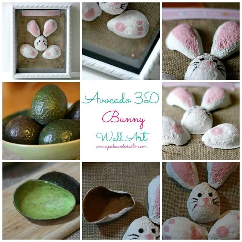 Avocado Bunny @cupcakesandcrinoline.com
