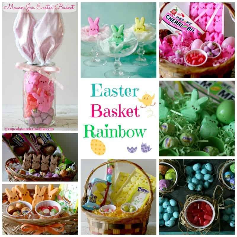 Easter Basket Rainbow 2 @cupcakesandcrinoline.com