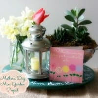 Mother's Day Garden @cupcakesandcrinoline.com