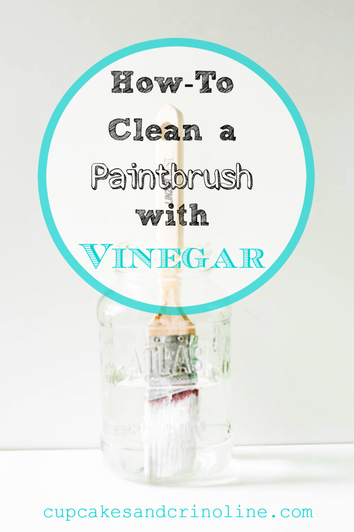 How To Clean a Paintbrush Easily With Vinegar