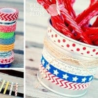 Patriotic and Summer Washi Tape