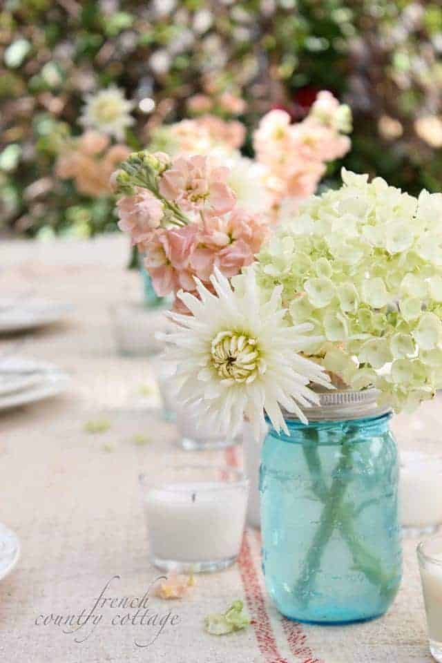 French Country Cottage: Summer Tablescape
