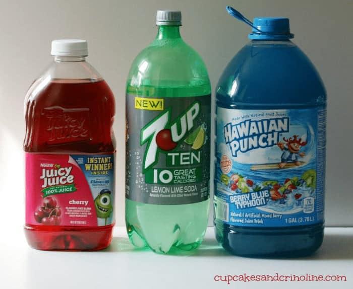 How to make layered beverages @cupcakesandcrinoline.com